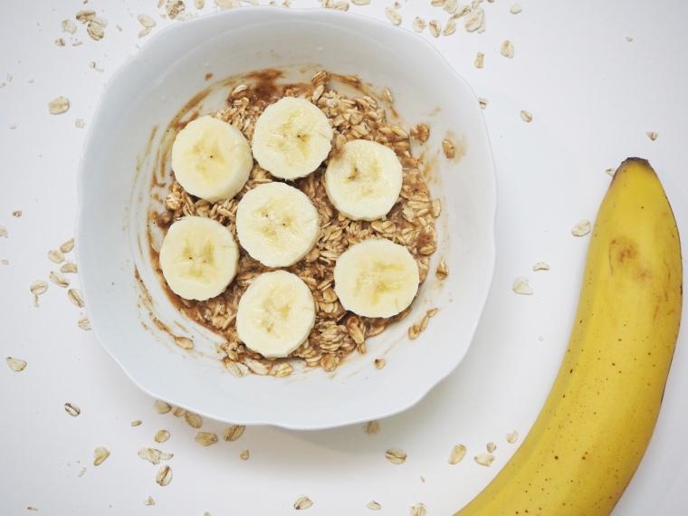 Banana & PB2 Oatmeal