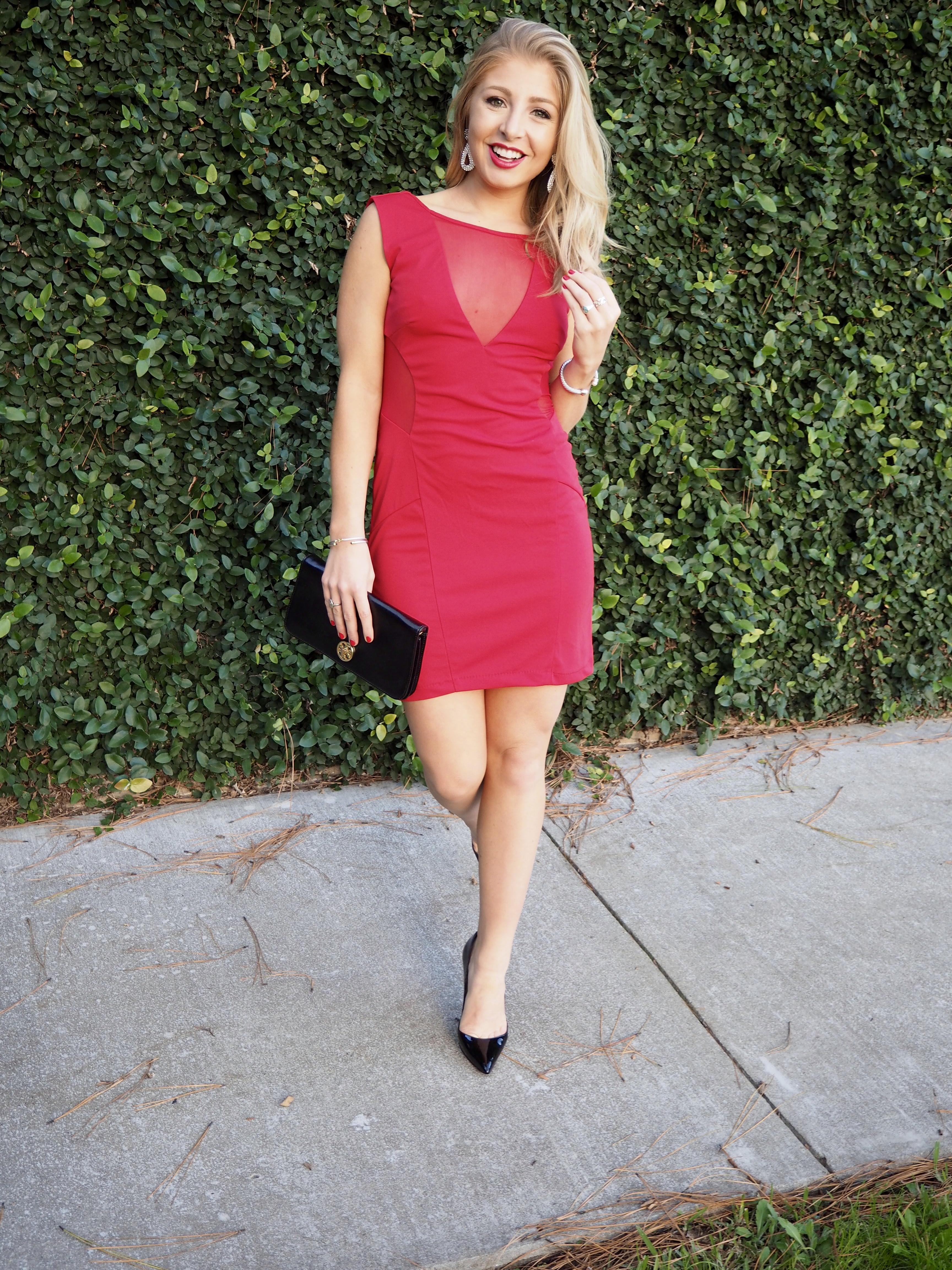 Red NYE Dress