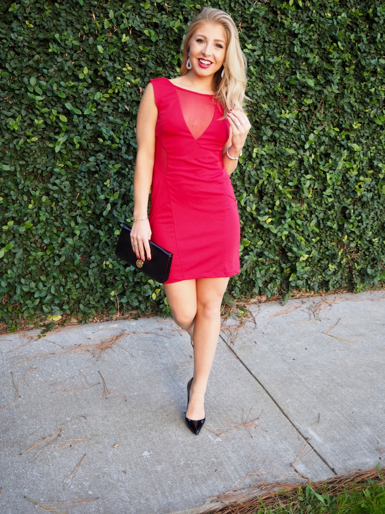 Red NYE Dress