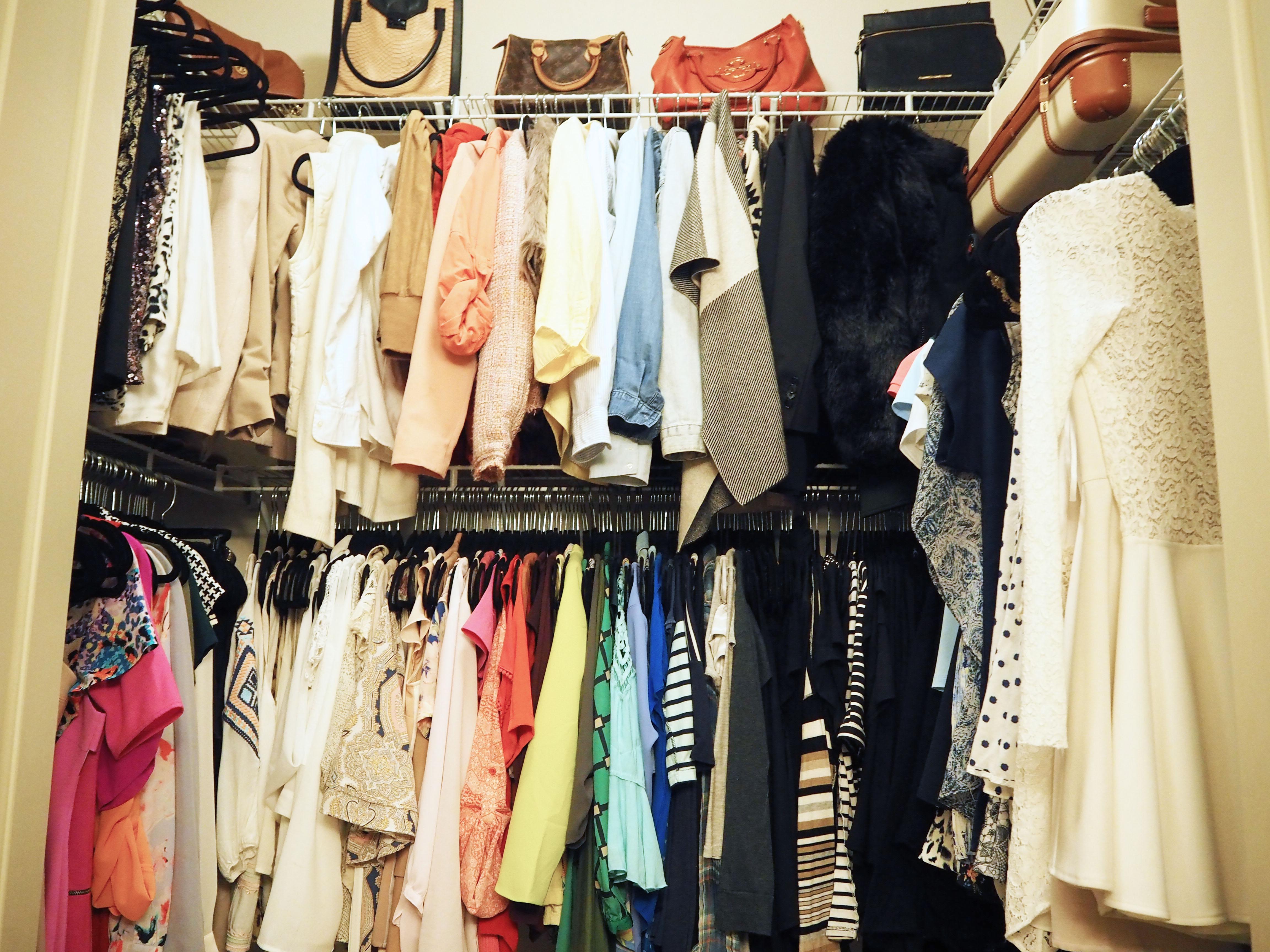 Life to Lauren Closet Organization