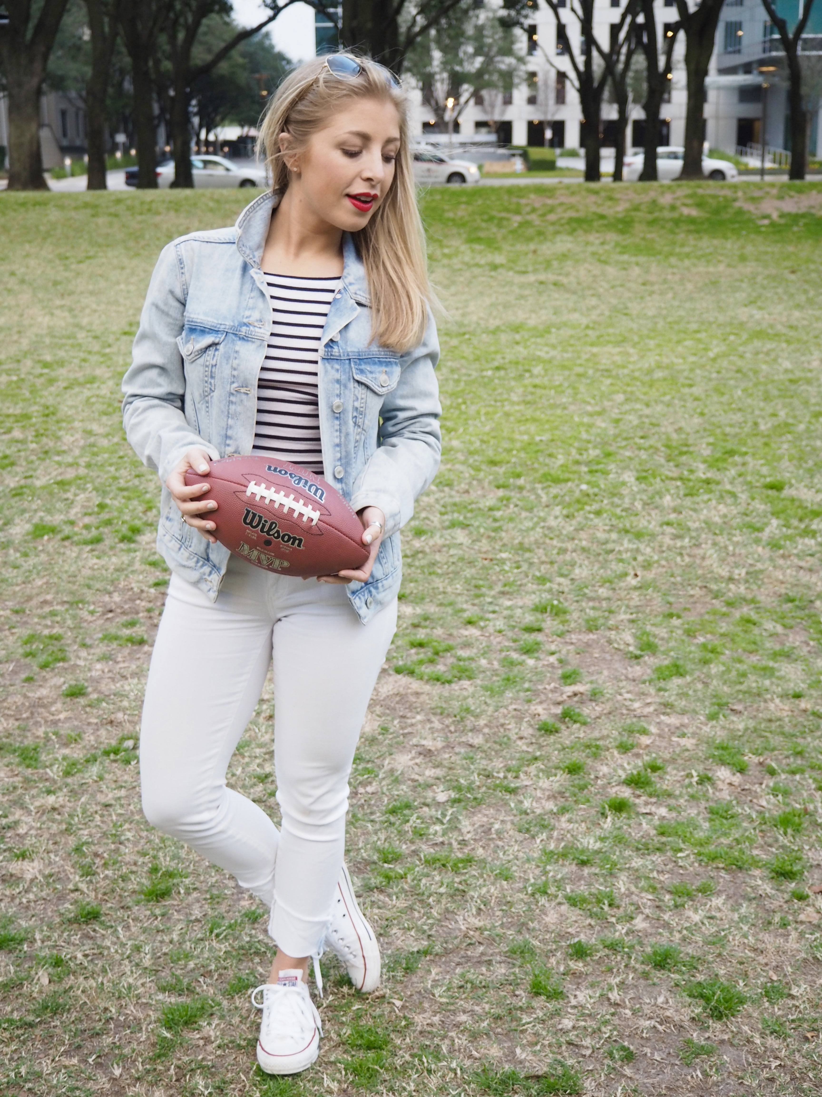 Superbowl outfit
