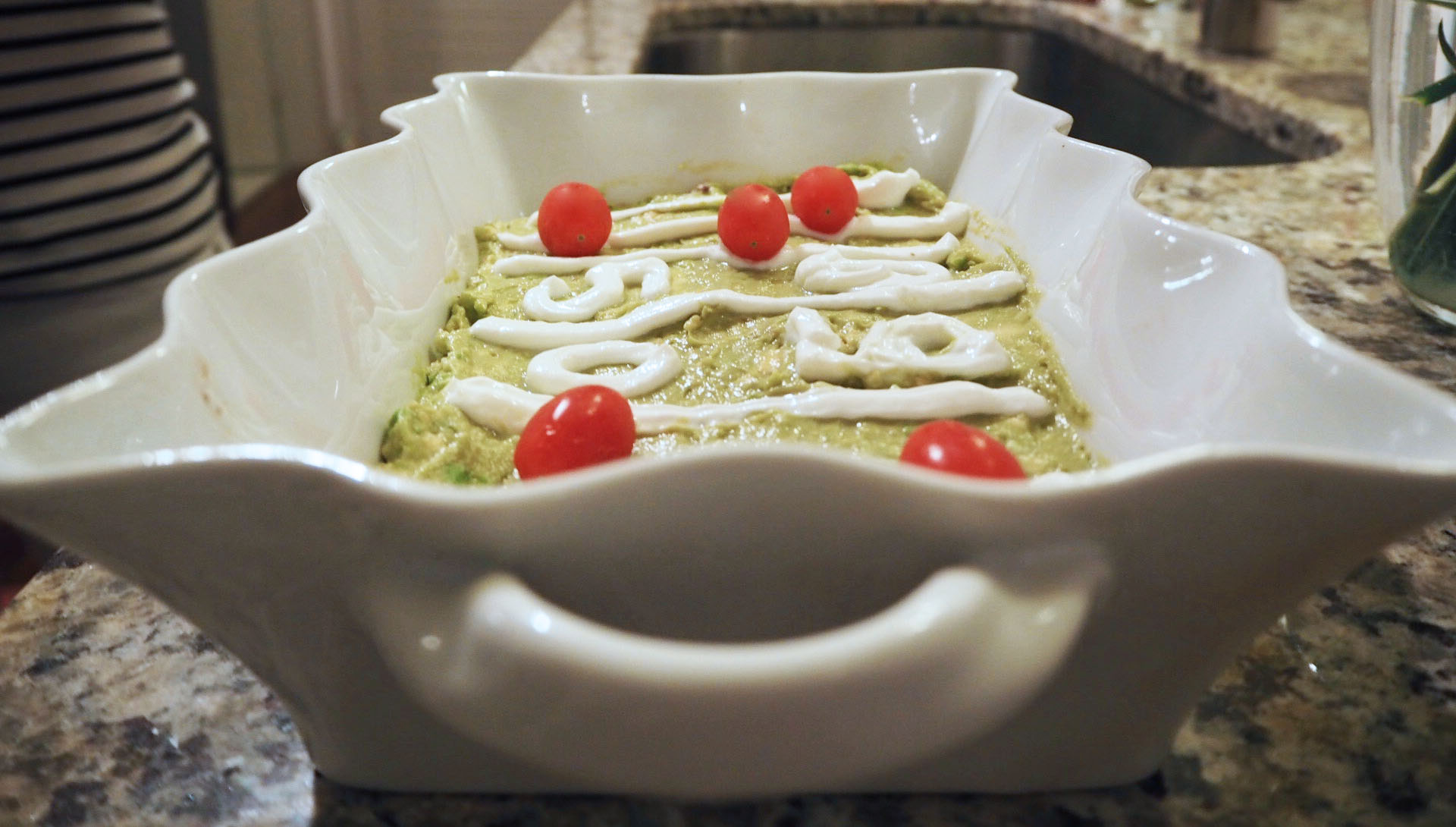 Skinny 6 Layer Super Bowl Dip