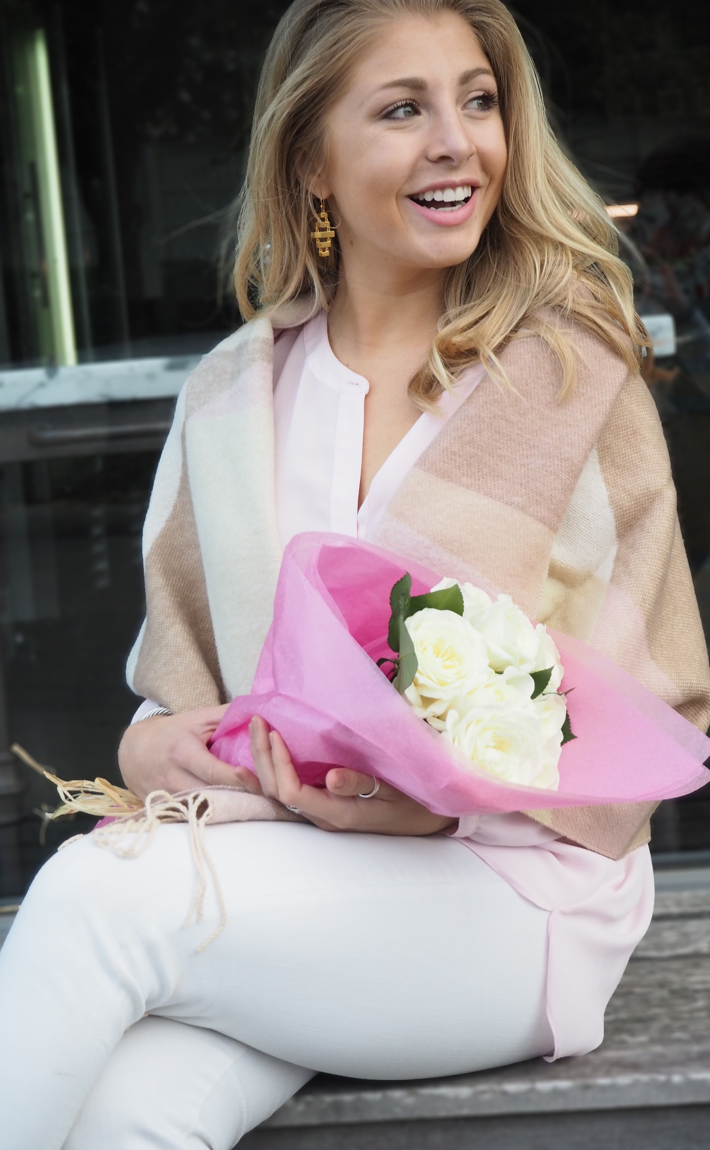 Pink Valentines Day Look