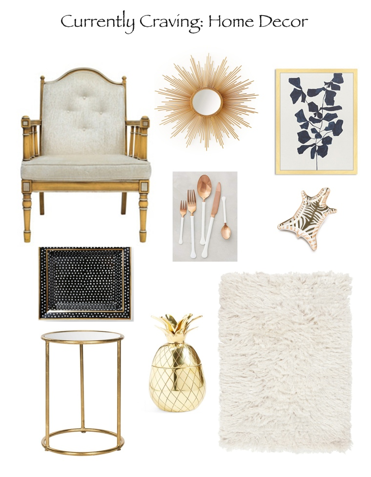 Currently Craving- Home Decor