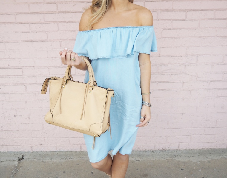 Spring Purse Outfit