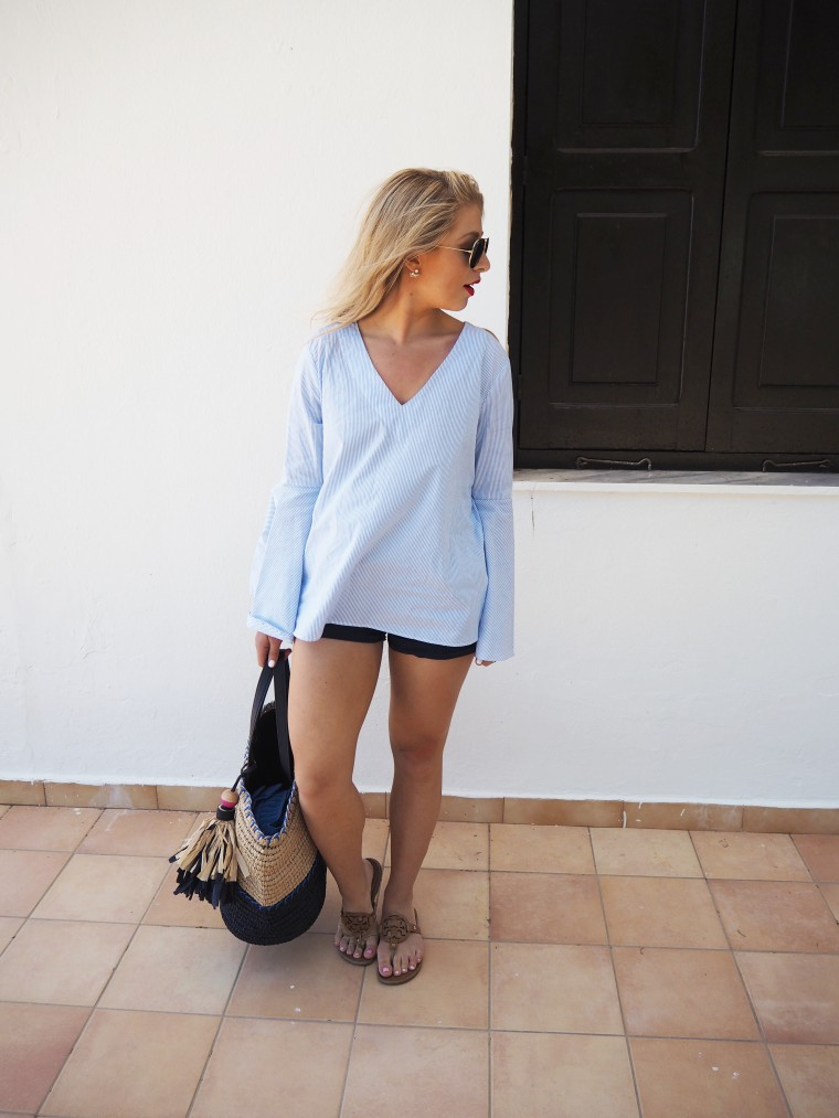 belle sleeves blouse