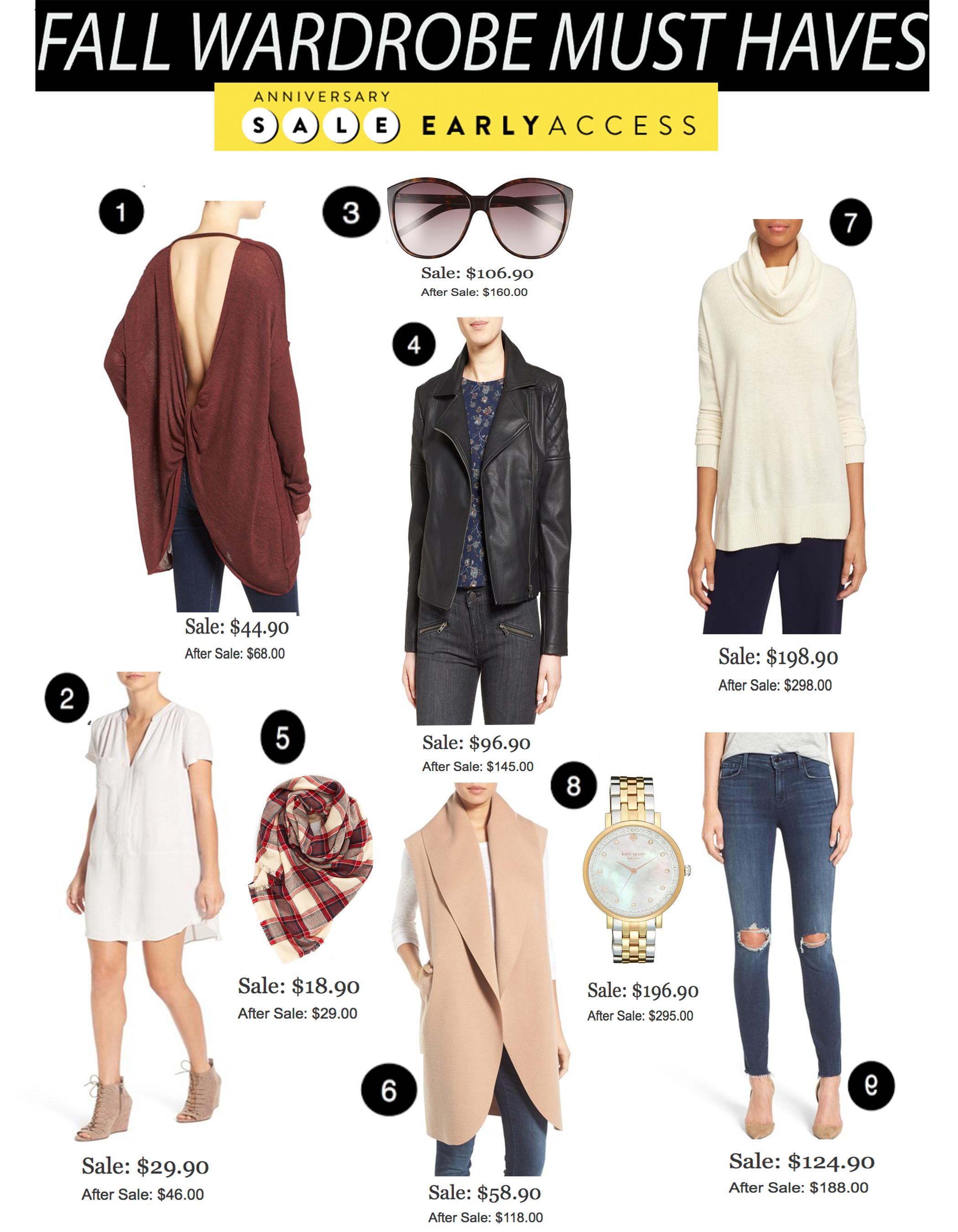 Fall Wardrobe Musthaves
