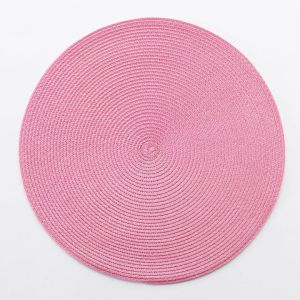 pink place mat
