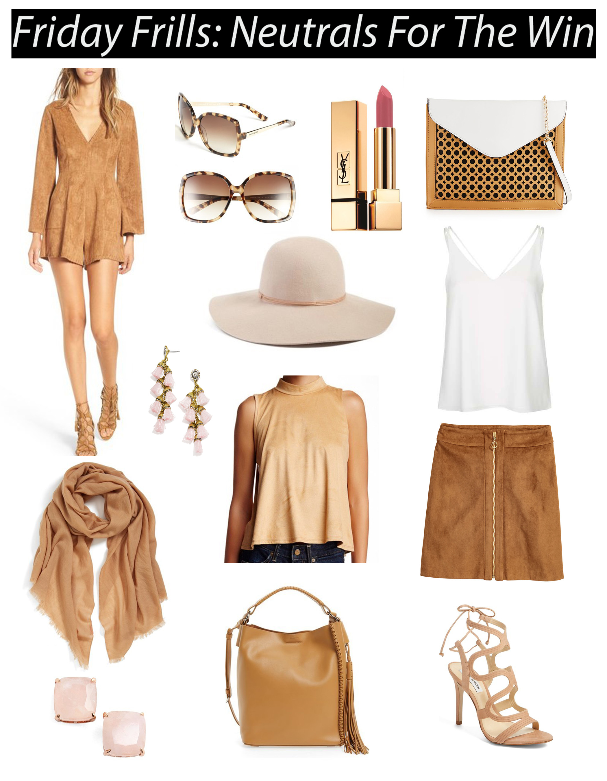 Nuetrals // Camel Outfit Inspiration // Transitioning into Fall