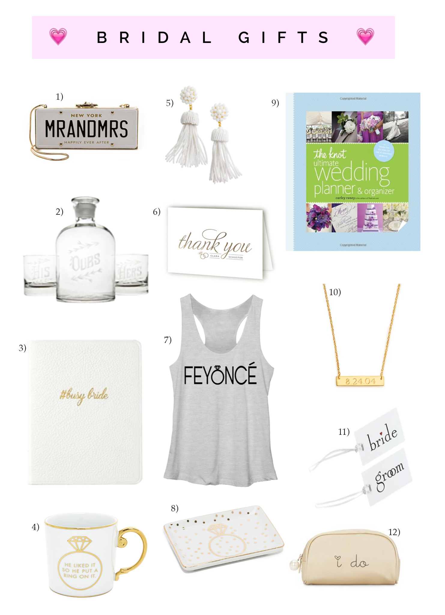 Bridal Gifts For The Brand New Bride Lifetolauren