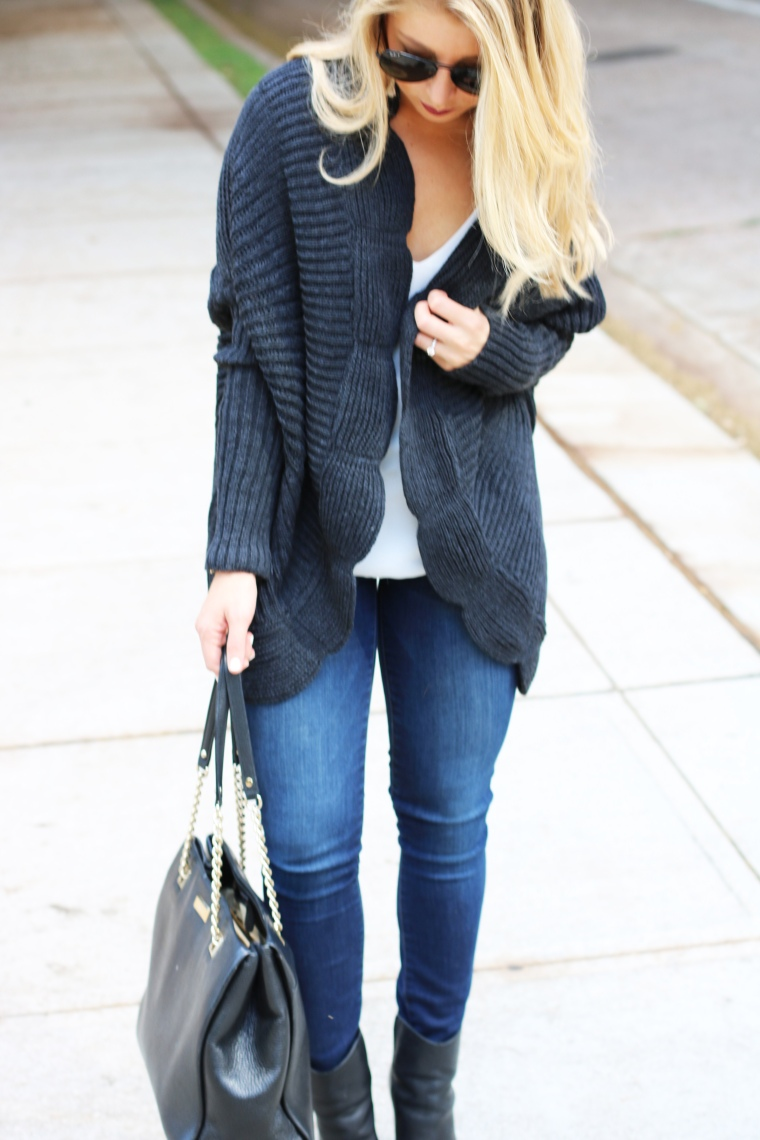 PoshSquare Cardigan - Fall Looks