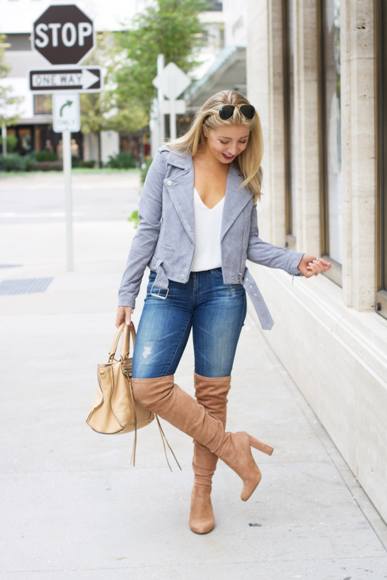 Morning Suede Moto Jacket