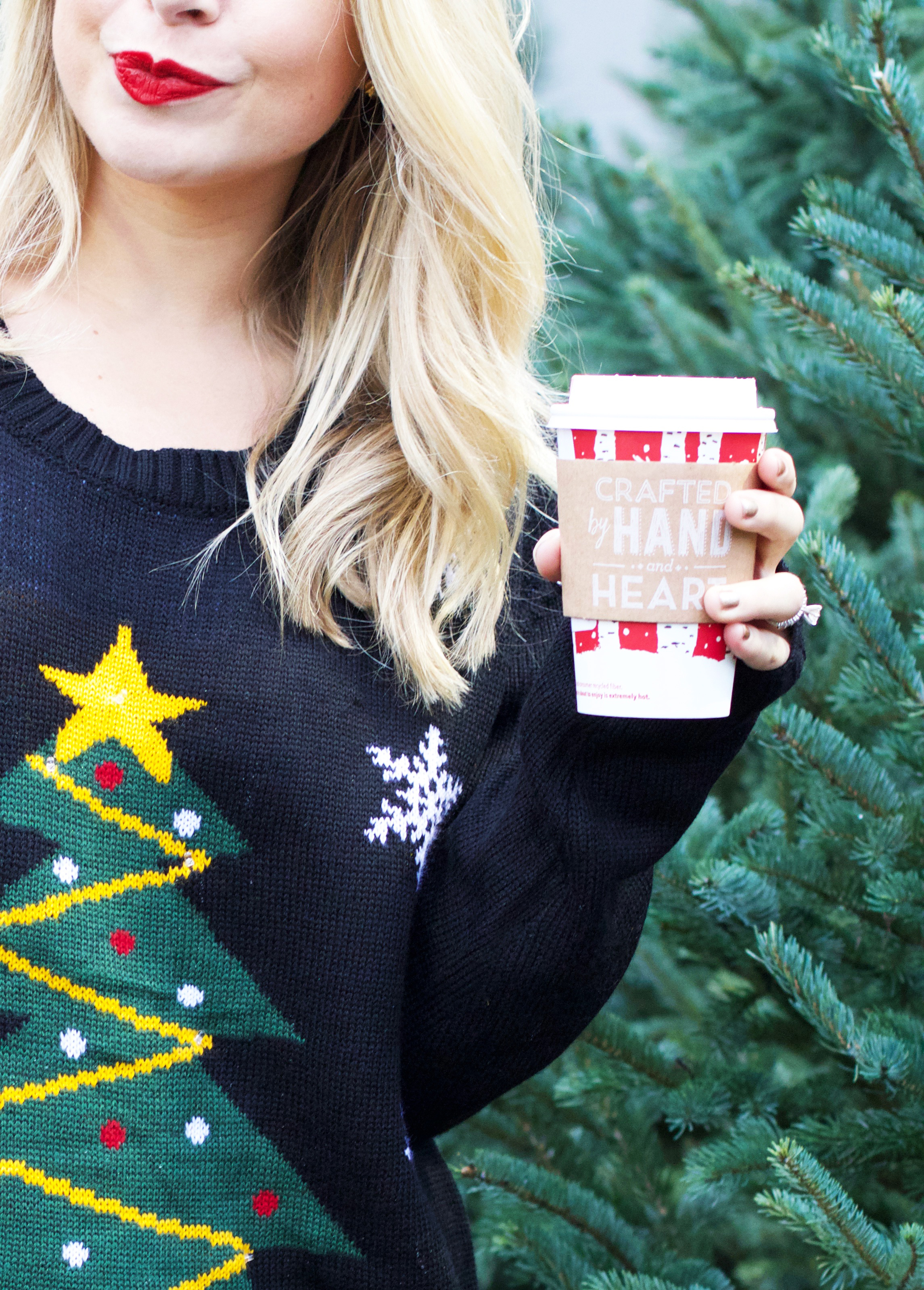 outfit details christmas sweater nordstrom leather leggings nordstrom booties nordstrom nordstrom ysl lipstick nordstrom rebecca minkoff - Nordstrom Christmas Sweaters