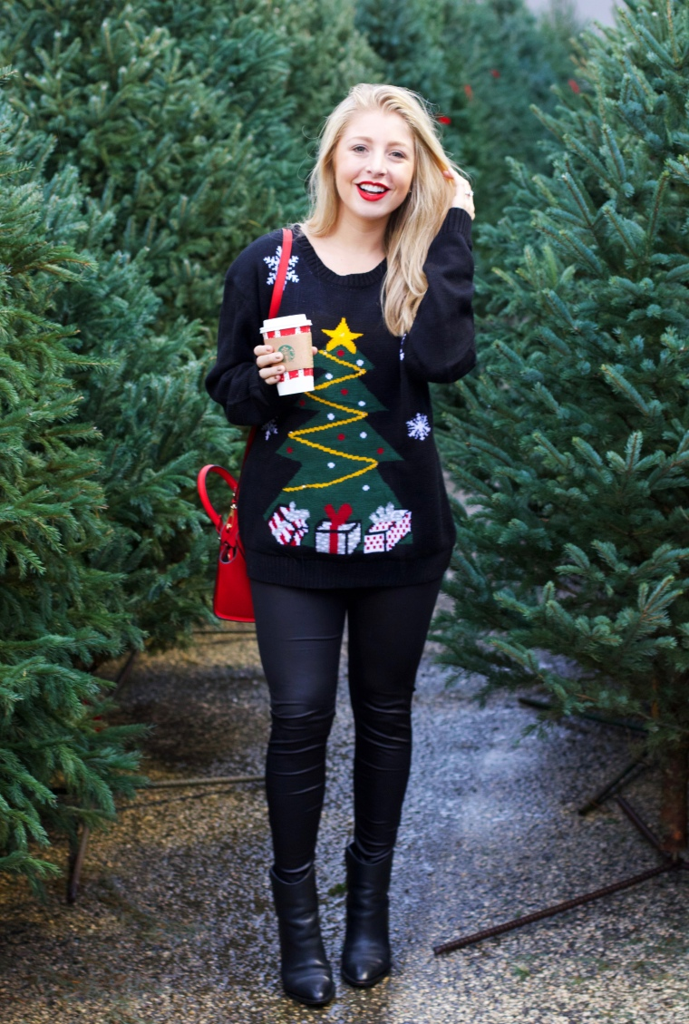 Tacky Christmas Sweater Outfit - Nordstrom