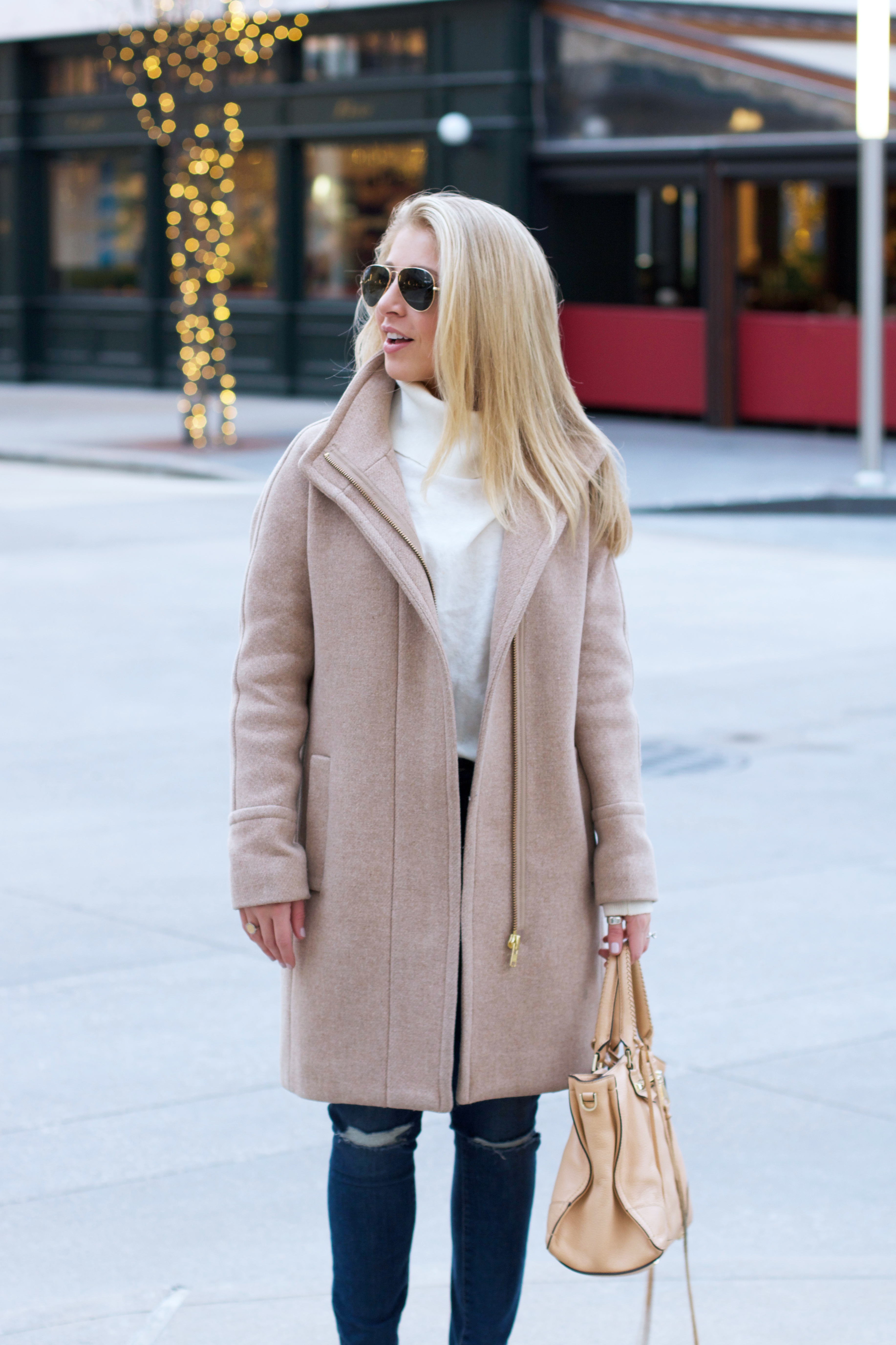 Neutral Winter Outfit